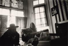Janis Joplin at Home, Haight Ashbury, San Francisco, 1967, Silver Gelatin Photograph
