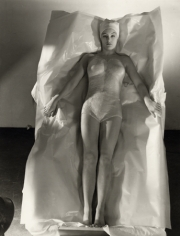Waxed Beauty, 1938, 20 x 16 Platinum Print, Edition 25