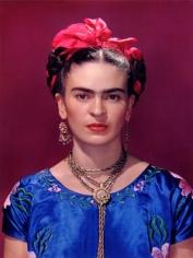 Frida Kahlo in Blue Silk Dress, 1939, 22 x 18 Carbon Pigment Print, Ed. 30