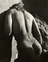 Marble Statue Antikytherea I, Athens, 1937, 40cm x 30cm Silver Gelatin Photograph
