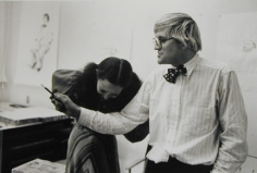 David Hockney, Los Angeles (With Boone Hopper) at Gemini, Silver Gelatin Photograph