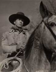 Gary Cooper, c. 1930s, 13-5/8 x 10-11/16 Vintage Silver Gelatin Photograph