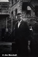 Johnny Cash (with Suitcase), Folsom Prison Ca., 1968, 14 x 11 Silver Gelatin Photograph