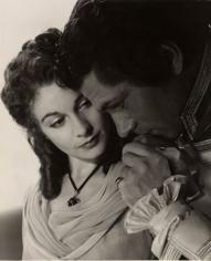 "Vivien Leigh & Lawrence Olivier, ""The Hamilton Women,"" 1941, 13-15/16 x 11-1/16 Vintage Silver Gelatin Photograph"