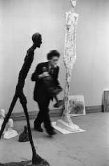 Alberto Giacometti, 1961, 14 x 11 Silver Gelatin Photograph