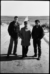 Truman Capote with Robert Blake and Scott Wilson, In Cold Blood, Holcomb, Kansas, 1964, Silver Gelatin Photograph