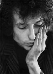 Bob Dylan, (Contemplation), Dublin, Ireland, 1966, 14 x 11 Silver Gelatin Photograph