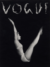 Lisa, V.O.G.U.E., New York, 1940, 14 x 11 Platinum Print, Edition 25