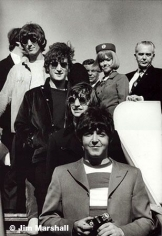 The Beatles (Exiting Plane), San Francisco, 1966, 14 x 11 Silver Gelatin Photograph