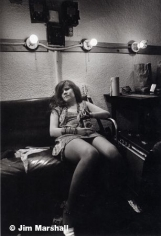 Janis Joplin (Feeling Lousy Backstage at Winterland), San Francisco, 1967, 14 x 11 Silver Gelatin Photograph