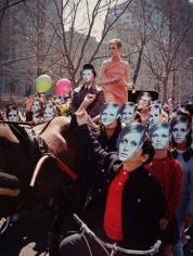 Twiggy, Carriage, New York, 1967