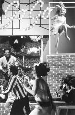 Hullaballoo with Chuck Berry, New York, 1965, Silver Gelatin Photograph