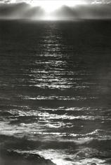 Ansel Adams Sundown, The Pacific, 1953
