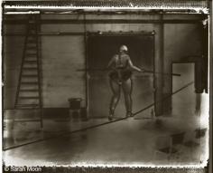 La Funambule, 15-3/4 x 19-1/2 Toned Silver Gelatin Photograph, Ed. 20