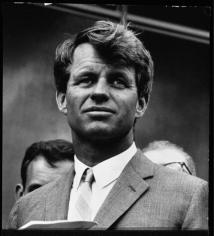 Robert Kennedy, (Close Up), 1964, Silver Gelatin Photograph