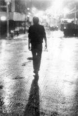 Joe Strummer, Silhouette, New York City, 1978, Silver Gelatin Photograph