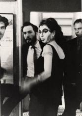 Carolee Schneeman with John Cage, New York, c. 1960, Silver Gelatin Photograph