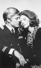 Robert Redford and Barbra Streisand (The Way We Were), Los Angeles, 1975, Silver Gelatin Photograph