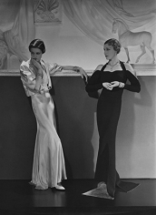 Jeanne Salmond and Mlle Boecler, Evening Wear by Lanvin, 1934, 20 x 16 Platinum Palladium on 24 x 20 Paper, Ed. 27