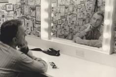 "Gore Vidal TV Interview, ""The Green Room,"" Los Angeles, California, c. 1972, Silver Gelatin Photograph"