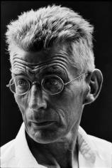Samuel Beckett, New York, 1964, Silver Gelatin Photograph