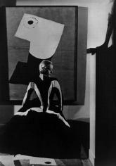 """Art in Fashion,"" Dress by Balenciaga, 1939, 20 x 16 Platinum Palladium on 24 x 20 Paper, Ed. 27"