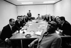 Ray Charles, Board Room, New York, 1966, Silver Gelatin Photograph