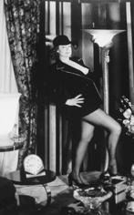 Regine at Home, Paris, 1975