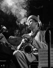 Dexter Gordon, Royal Roost, New York City, 1948, 14 x 11 Silver Gelatin Photograph