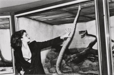 Woman with Snake, Berlin, 1979