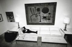 Otto Preminger at Home, New York, 1964, Silver Gelatin Photograph