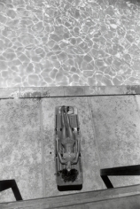 "(Woman Laying at Pool), ""Women are Beautiful,"" n.d., 14 x 11 Silver Gelatin Photograph"