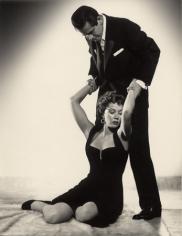 "Gloria Grahame & Glenn Ford, ""The Big Heat,"" 1953, 13-3/8 x 10-5/16 Vintage Silver Gelatin Photograph"