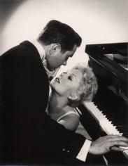 "Tyrone Power & Kim Novak ""Eddie Duchin Story,"" 1956, 13-3/8 x 10-7/8 Vintage Silver Gelatin Photograph"