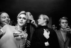 Andy Warhol, Edie Sedgwick and Entourage, New York. 1965, Silver Gelatin Photograph