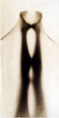 Osmosis, Untitled #9905332, 1999, 40 x 20 Silver Gelatin Photograph, Copper, and Glass, Ed. 10