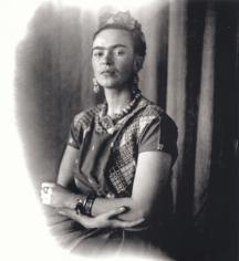 Frida Kahlo, c. 1939, 13 x 11 Platinum Photograph, Ed. 30