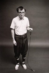 """Woody Allen """"Ant on a Leash"""", New York, 1964, Silver Gelatin Photograph"""