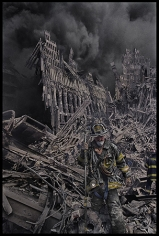 New York, World Trade Center (Fireman), 2001, Combined Edition of 30 Photographs: