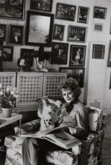 Lucille Ball at Home, Beverly Hills, 1980, Silver Gelatin Photograph