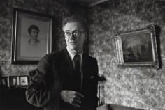 Robert Lowell, Boston, 1964, Silver Gelatin Photograph