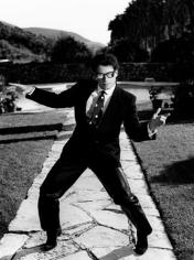 John Travolta, Santa Barbara, 1985, 17 x 11 Archival Pigment Print