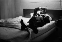 Truman Capote in Bed, Kanasas, 1967, Silver Gelatin Photograph