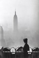 New York City (Empire State Building), 1955, 20 x 16 Silver Gelatin Photograph