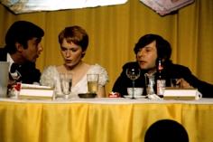 Robert Evans, Mia Farrow, and Roman Polanski in Kansas City, 1968, Archival Pigment Print