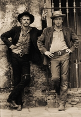 """Robert Redford and Paul Newman, """"Butch Cassidy and the Sundance Kid"""", 1968"""
