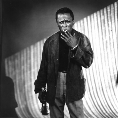 Miles Davis with Cigarette, Los Angeles, 1957, 16 X 20 Silver Gelatin Photograph, Edition of 25