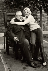 Orson Welles and Angie Dickinson, Los Angeles, 1978, Silver Gelatin Photograph