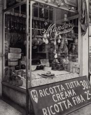 Cheese Store, New York, 1937