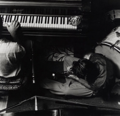Chet Baker and Teddy Charles (piano), Pasadena, 1953, 14 X 11 Silver Gelatin Photograph, Edition of 25